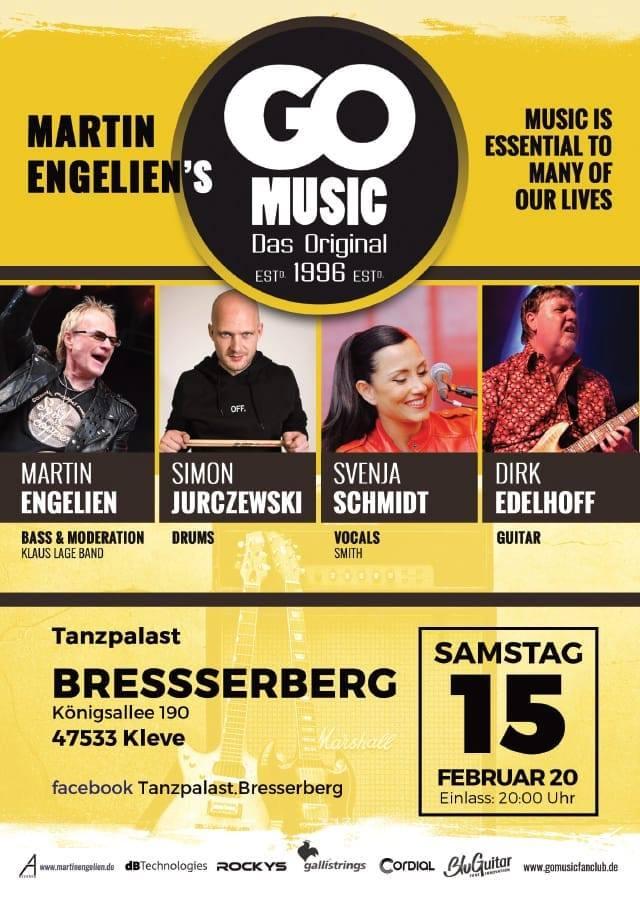 Go Music at Tanzpalast Bresserberg Kleve